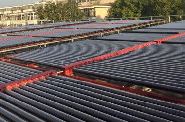 天津滨海华建里供热站回水供热项目